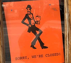 Palmer's Closed