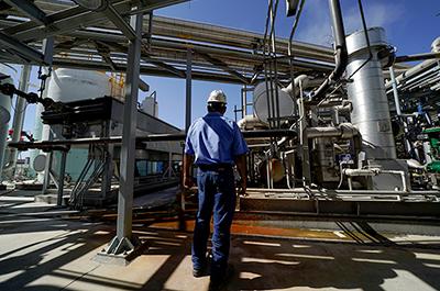 Calgren's renewable fuels facility