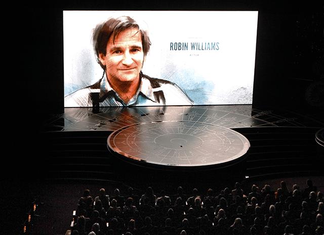 Robin Williams Oscar Memorial
