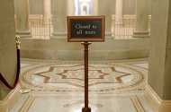 All Capitol Visitor Center tours have been cancelled for the foreseeable future.