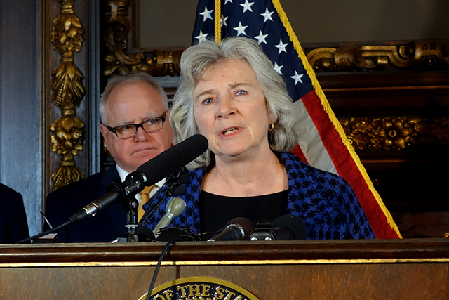 Health Commissioner Jan Malcolm said she has not seen legislators move this quickly on any other issue she worked on.