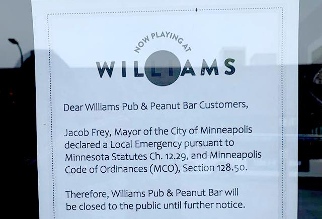 Williams Pub, Uptown, Minneapolis