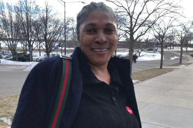 photo of voter
