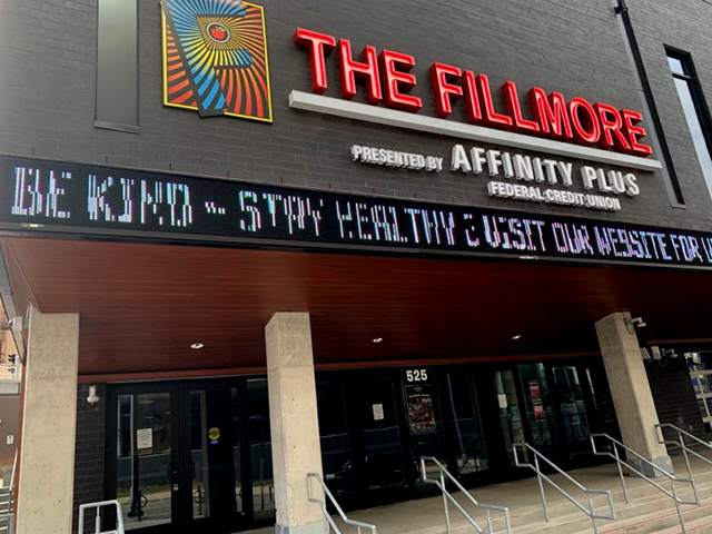 The Fillmore, downtown Minneapolis.