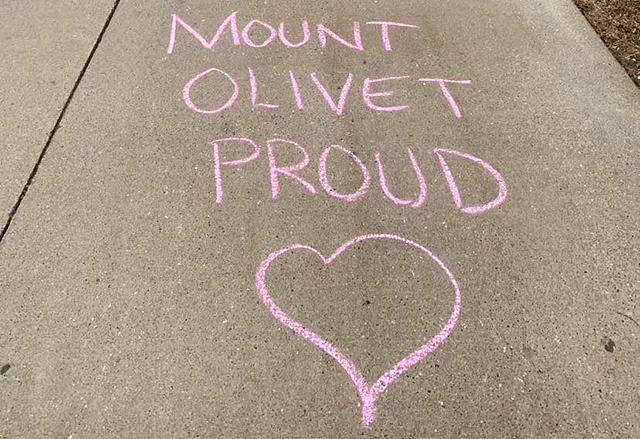 Mount Olivet proud