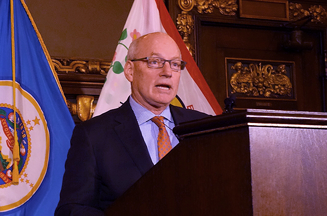 """Management Budget Commissioner Myron Frans: """"That's part of the challenge. What are all of the funding sources, what are they gonna be used for, and how can they be deployed?"""""""