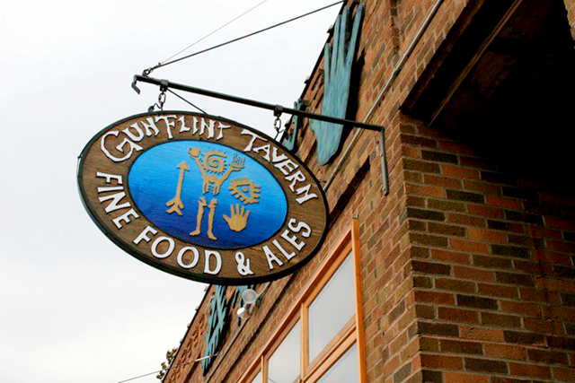 The Gun Flint Tavern in Grand Marais has shut down amid the COVID-19 pandemic.