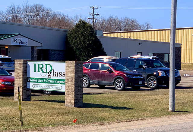 IRD Glass, a manufacturer, has remained open.