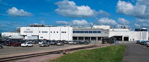 JBS pork processing plant in Worthington.