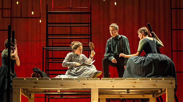 """Starting today, National Theatre Live presents """"Jane Eyre,"""" adapted by Sally Cookson."""