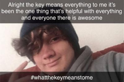 #whatthekeymeanstome