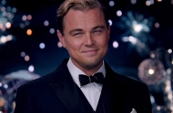 "Leonardo DiCaprio as Jay Gatsby in 2013's ""The Great Gatsby."""