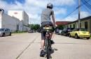 Minneapolis bicyclist
