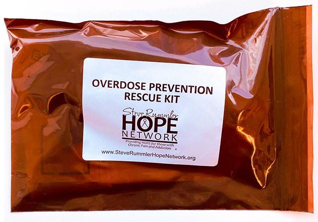 free overdose-prevention rescue kit
