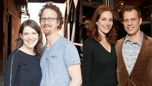 Next Generation Commission funding recipients, from left to right: Kate Kilbane, Dan Moses, Jessie Austrian and Noah Brody.
