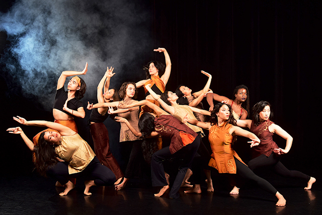 "Ananya Dance performing ""Sutrajāl: Revelations of Gossamer,"" which will be available for viewing May 1 through May 8."