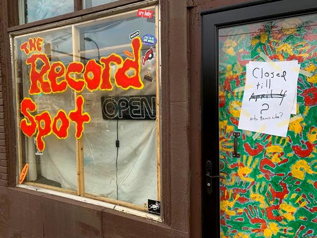 The Record Spot, Kingfield, Minneapolis.