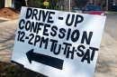 Drive-up confession