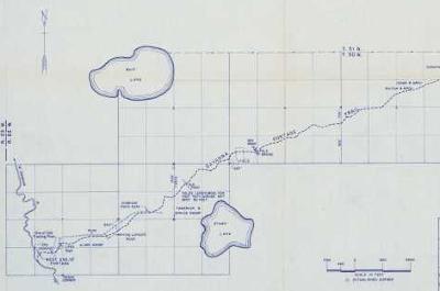 historic map of savanna portage