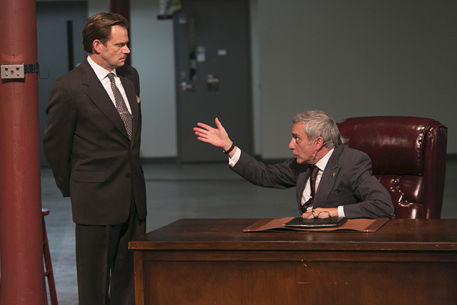 "Mark Benninghofen and Robert Dorfman in the 2014 production of Harold Pinter's ""Hothouse."""