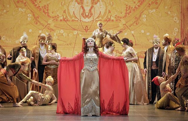 "Kelly Kaduce as the title role in Jules Massenet's ""Thaïs."""