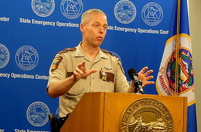 State Patrol Colonel Matt Langer