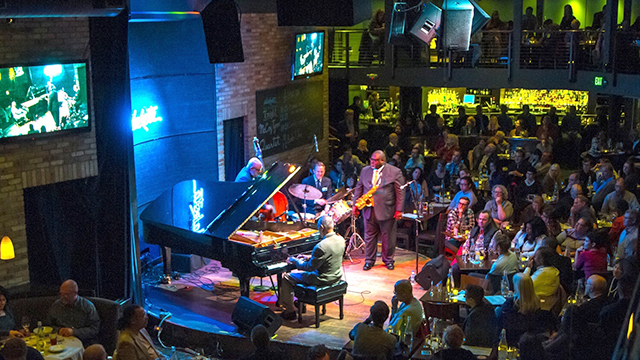 Pianist McCoy Tyner plays to a full house on October 21, 2016.