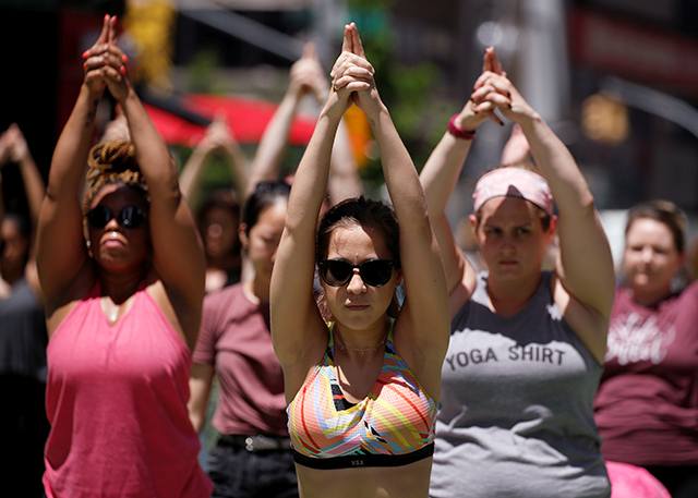 Yoga may help ease depression in people with mental disorders, study finds