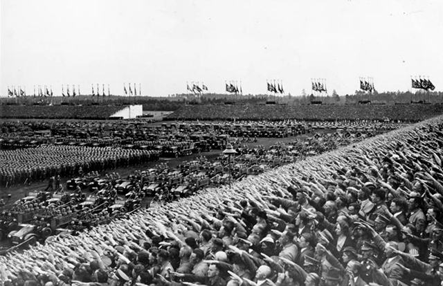 Nazi Party rally in Nuremberg, September 1936