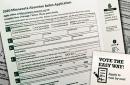 2020 Minnesota absentee ballot application