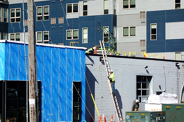 Even as the economy starts to slowly reopen and workers return to jobs, there's reason to believe it will be a while longer before the construction industry regains its steam.
