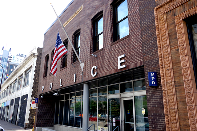 Minneapolis Police Department, 1st Precinct, downtown Minneapolis