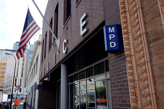 Minneapolis Police Department, 1st Precinct, downtown Minneapolis