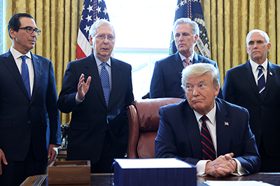 McConnell, Trump