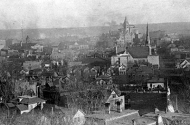 View of St. Paul from Summit Hill, 1887