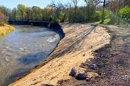 streambank stabilization project