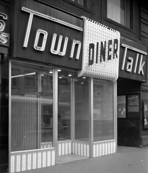 Town Talk Diner, circa 1954.