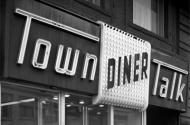 Town Talk Diner sign
