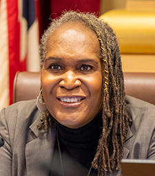 Minneapolis City Council Vice President Andrea Jenkins