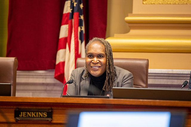 Minneapolis City Council Vice President Andrea Jenkins