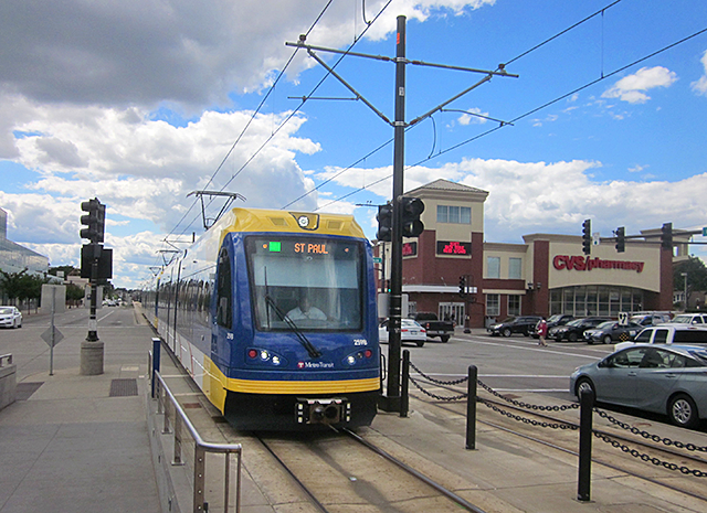 Green Line at Snelling and University