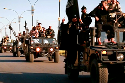 "A still from ""Once Upon a Time in Iraq."""