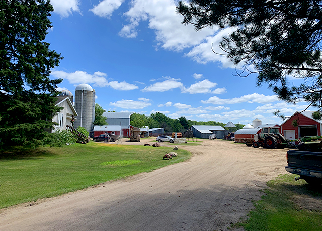 The Nolte farm near Sebeka in Wadena County.