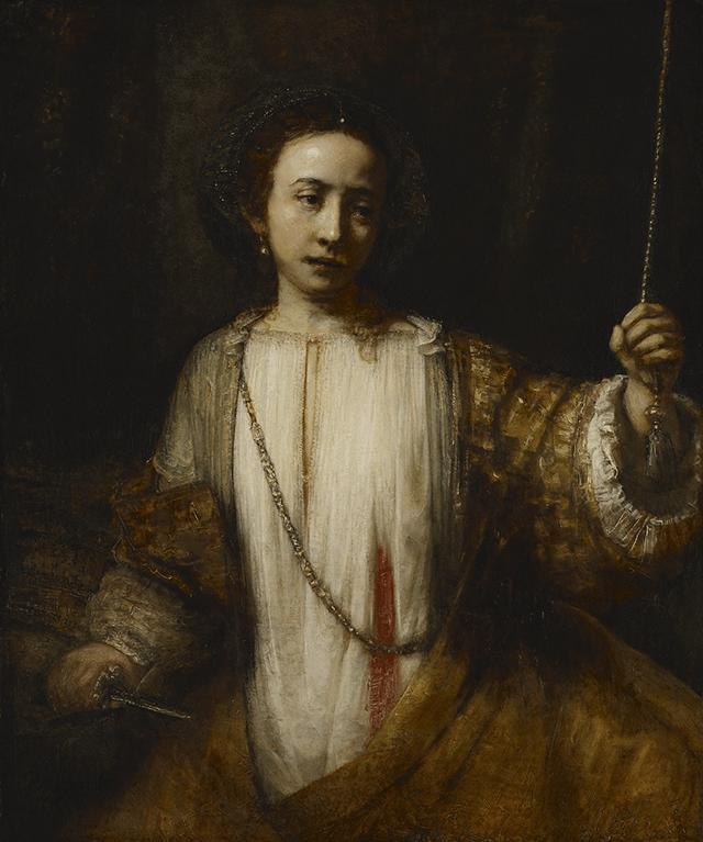 """Lucretia,"" Rembrandt"