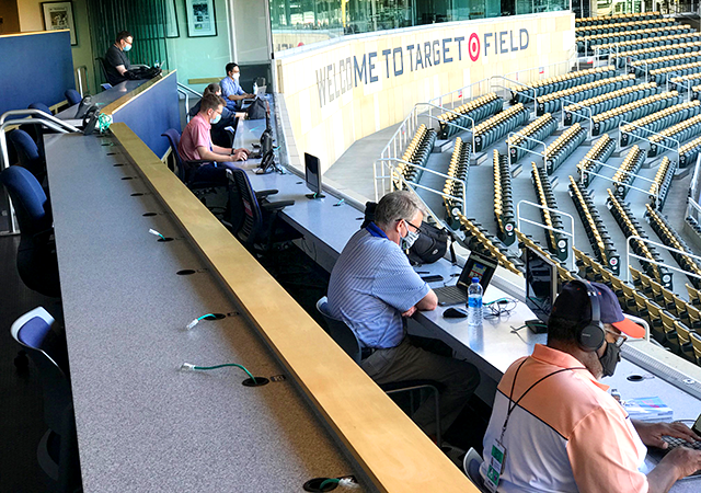How COVID-19 is messing with coverage of pro sports in the Twin Cities