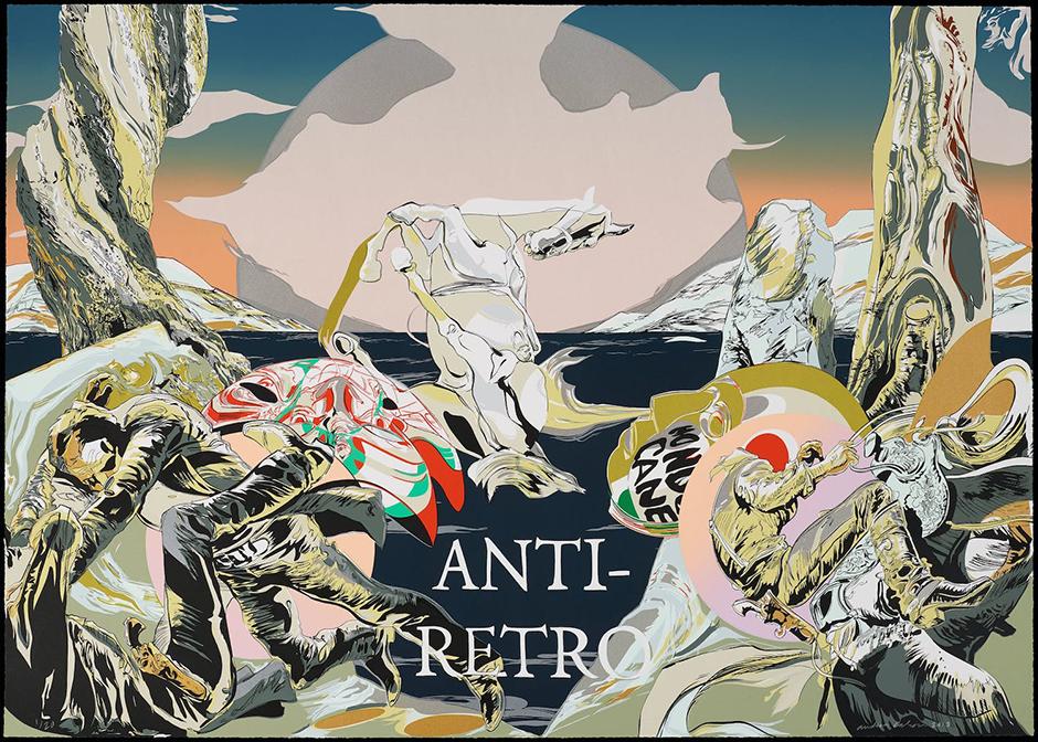 """Andrea Carlson, """"Anti-Retro,"""" 2018"""