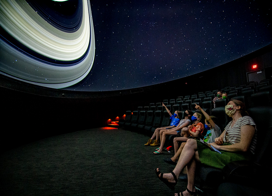 "The Whitney and Elizabeth MacMillan Planetarium will open with two all-ages programs, ""Minnesota Night Sky"" and ""Out of This World!"""