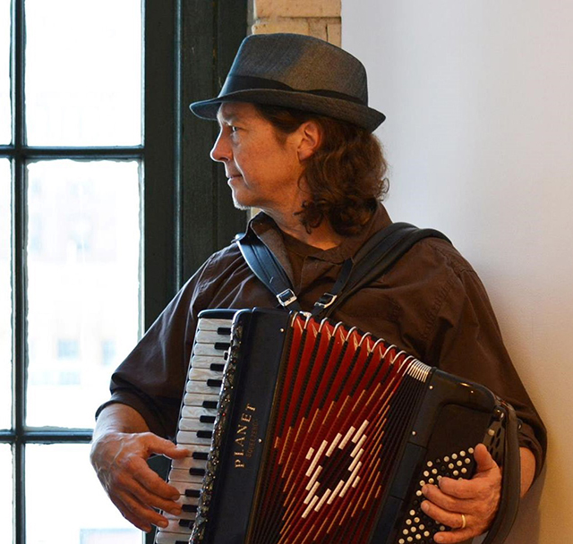 Dan Newton will perform in downtown St. Paul tomorrow at noon.