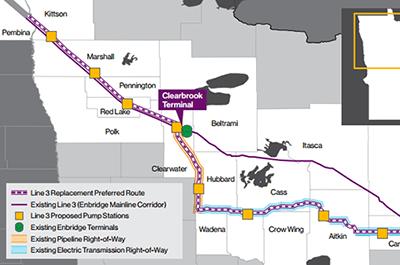 Enbridge Line 3 Pipeline Replacement Project