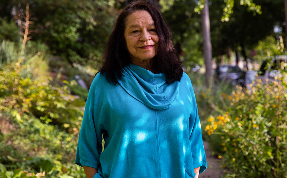 Of the 23 McKnight Distinguished Artists to date, Marcie Rendon, the 2020 winner, is the first Native American woman.